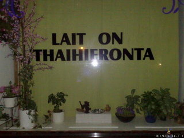 eroottisia tekstejä thai hieronta espoo