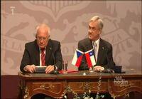 Tšekin presidentti varastaa kynän