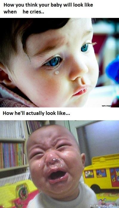 Itkevä Vauva