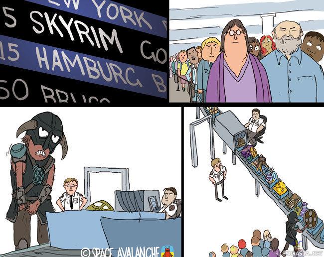 Turvatarkastus Lentokenttä