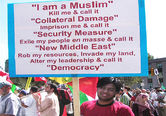 Muslims against invation