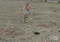 Unicycle fail