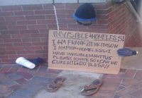 Homeless people get cleverer and cleverer..