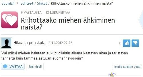 suomi24 chat jyväskylä kuumaa seksiä