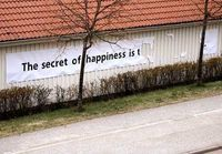 Secret of happiness is t_____________________