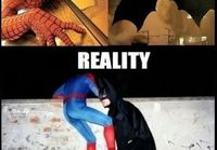 Spider-Man and Batman for real