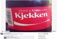 Share a Coke with Kjekken
