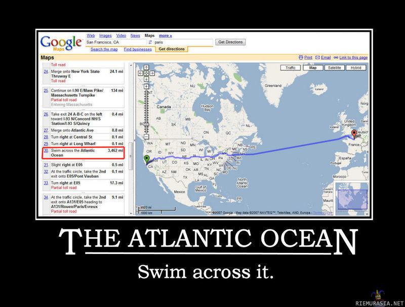 Google Karttahaku
