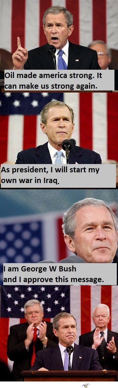 Bush Stronger -
