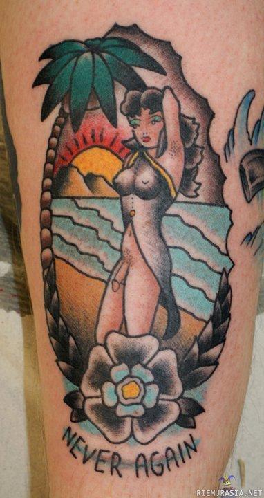 old school tatuoinnit leijona tatuointi