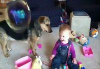 Vauvan nauru hidastettuna