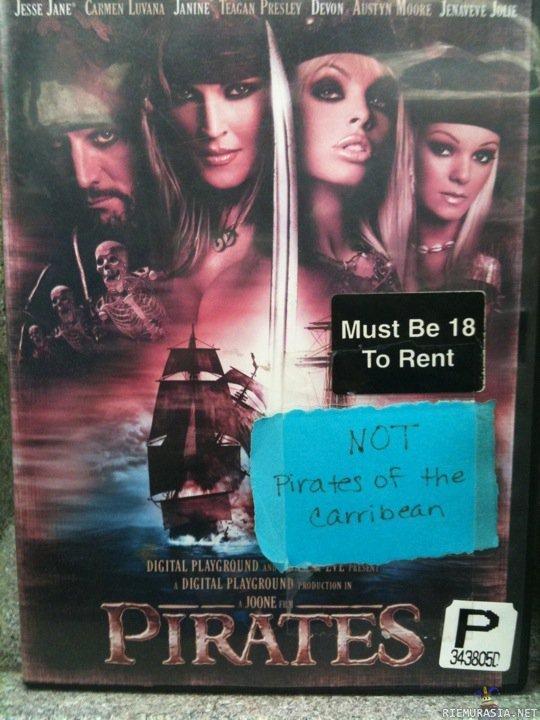 Pirates of Karibian porno elokuva porno Karvainen tytöt