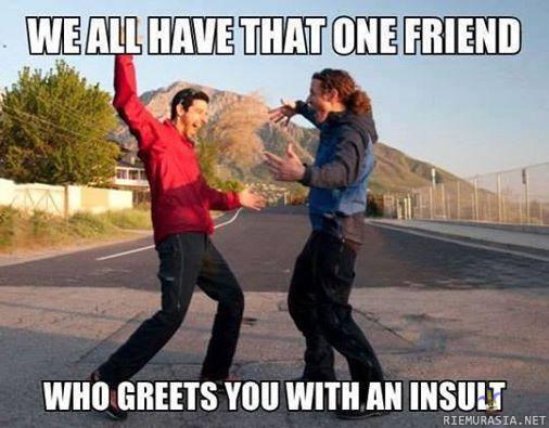Vittuile ystäviä