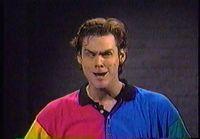 Jim Carrey vääntelee naamaansa
