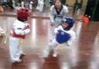 Hurjin taekwondo matsi ikinä :D