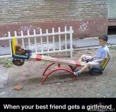 Kun ystäväsi alkavat seurustella toistensa kanssa