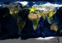 Maailman lentoliikenne