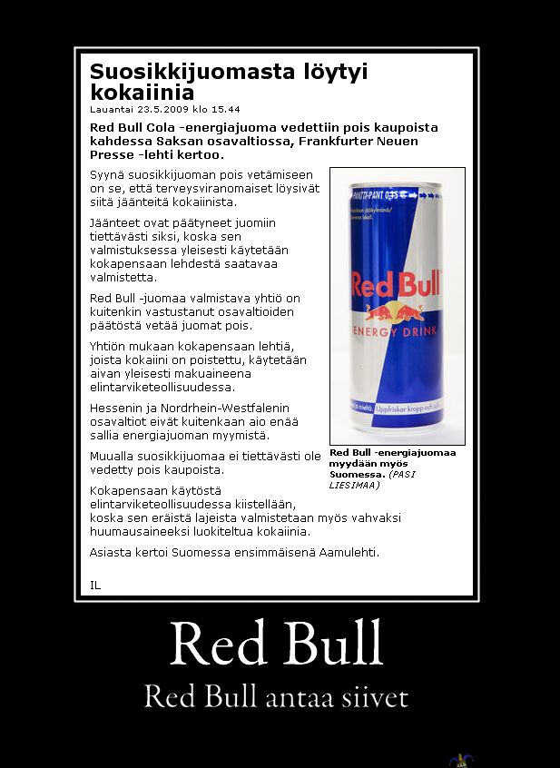 Red Bull Antaa Siivet
