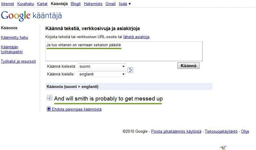 Google.Com Kääntäjä