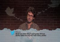 Mean Tweets-Music edition
