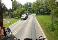 Moottoripyöräonnettomuus