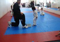 Pienen pojan Taekwondo vyökoe
