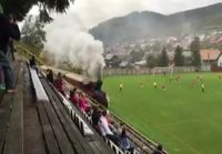 Junalla jalkapallomatsiin